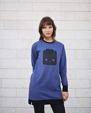 Šiltas laisvalaikio džemperis