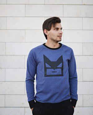 Mėlynas Džemperis - Betmenas