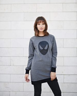 Long Women Sweatshirt - Hero of the SKY