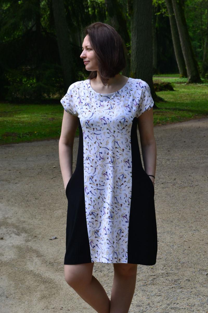 Trumpa Suknelė vasarai gaiva
