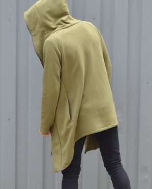 Unisex Jumper 'WIND' – Khaki - Street fashion assassin creed style