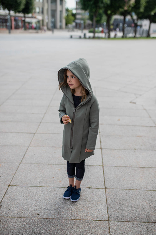 Summer kids coat 'SEA' – Olive green
