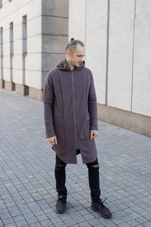 Unisex summer jacket – light brown 'SEA'