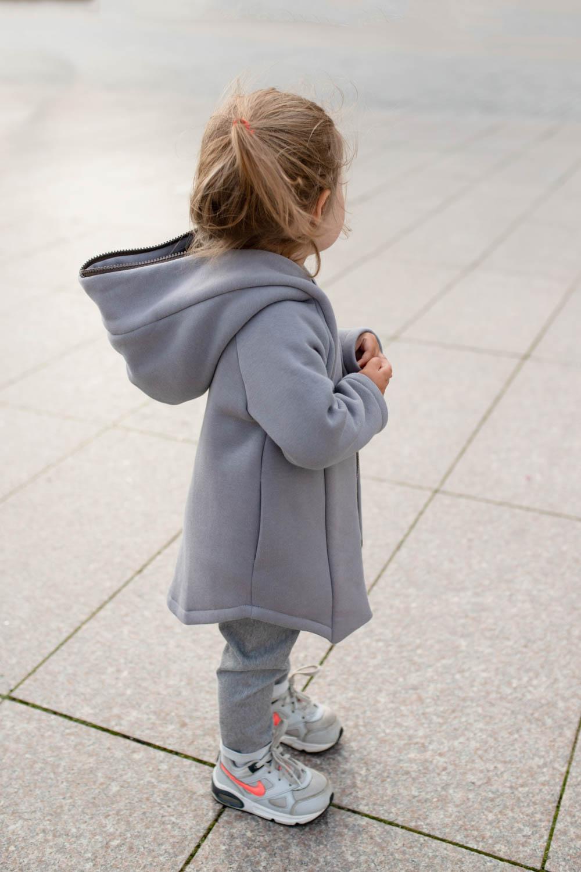 Kids Spring hooded jacket 'SEA' – Ivory