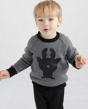 Christmas children's sweater 'DEER'