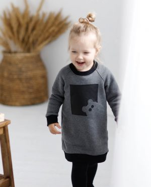Long girls jumper 'TEDDY BEAR'