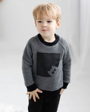 Warm kids jumper 'KITTEN'