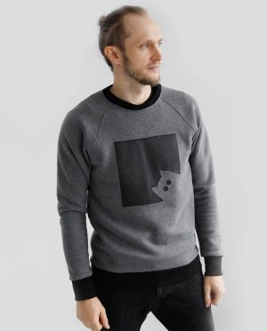 Warm cotton sweatshirt 'KITTEN'