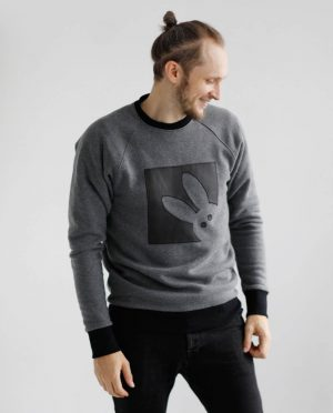 Organic cotton warm sweatshirt 'BUNNY'