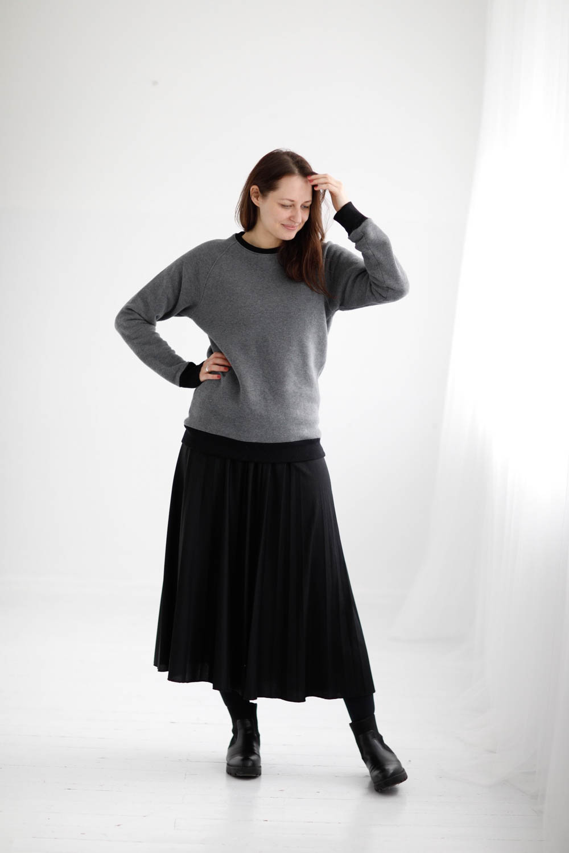 Warm cotton sweatshirt 'SIMPLICITY'