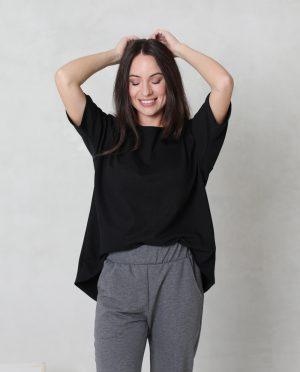 Short sleeve loose top