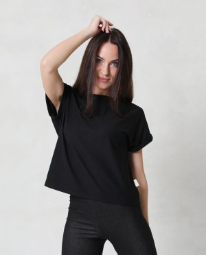 Comfortable loose summer top for women